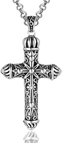 NC110 Brunnen des Alten Kreuzmusters magische Halskette Anhänger YUAHJIGE