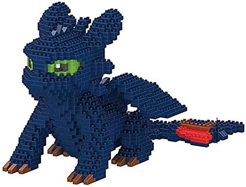 Mini Micro Diamond Model Building Blocks Dinosaur Toys Regalos para niños, Blanco
