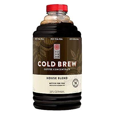 Kohana Cold Brew Coffee Concentrate, House Blend, 32 oz