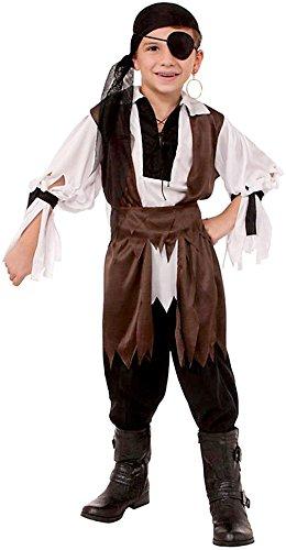 Forum Novelties Caribbean Pirate Child Costume, Medium