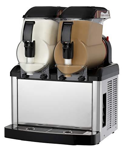 SPM - Dispensador compacto de cremas frías y sorbetes SP 2 - Mecánica - Capacidad: 2 x 5 l - 100% fabricado en Italia