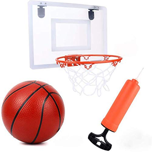 Baloncesto Canasta Baloncesto Infantil Diseño Plastico Colgante Infantil Baloncesto Juego Al Aire Libre y Interior Jardín Conjunto