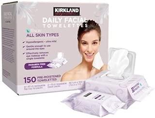 Kirkland Daily Facial Towelettes - 150 ct