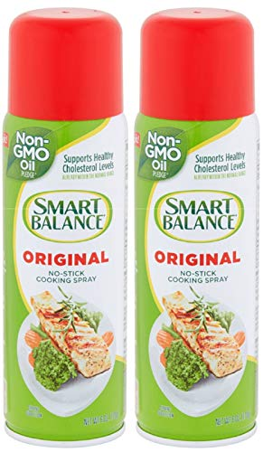 Smart Balance Cooking Spray, Non-Stick Original , 6 Ounce (Pack of 2)