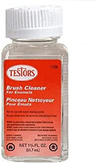 Testor Corp. Testors Enamel Plastic Model Paint Thinner & Brush Cleaner, 1.75 oz