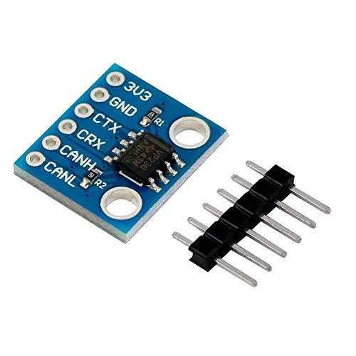 Triamisu 1Pcs Sn65Hvd230 Módulo de comunicación del transceptor Can Bus para Arduino - Azul Oscuro
