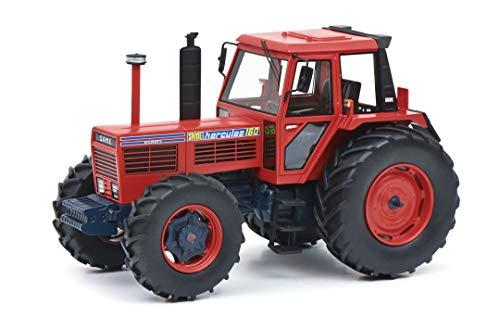 Schuco Schuco-450910300 Same Hercules 160, modellino di Auto, Scala 1:32, Edizione Limitata 500, in Resina, Colore: Rosso Blu, 450910300