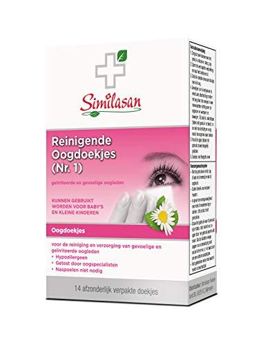 Similasan – Reinigende oogdoekjes Nr 1. – bij Geirriteerde en Gevoelige Oogleden – Helpt bij Ontstoken Traanbuisjes…