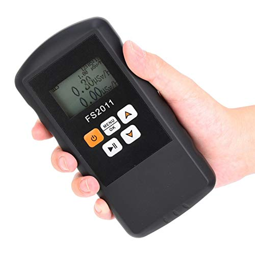 Radiation Detector Nuclear Radiation Detector β γ χ Ray Radiation Survey Meter with LCD display for ore testing