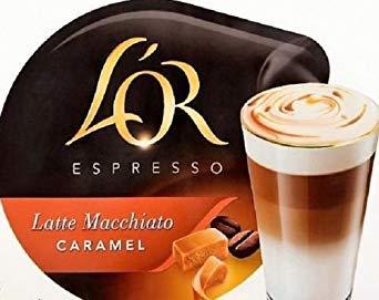 48 x Tassimo L'OR Espresso for Latte Macchiato / Caramel Coffee ONLY, NO Milk T-Discs (Sold Loose)