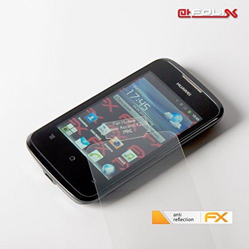 atFoliX Displayschutzfolie für Huawei Ascend Y200 (3 Stück) - FX-Antireflex: Displayschutz Folie antireflektierend! Höchste Qualität - Made in Germany! - 4