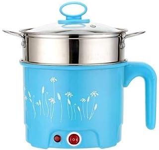 JSJJAET Elektrische Kookpot 1.5/1.8L Mini Elektrische Kookpot Noodle Soep Fornuis Hot Pot Koken Stomen Potten en Pannen Ko...