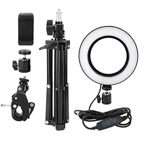 DAUERHAFT Luz de Relleno para fotografía Fácil de Transportar Luz de Video LED USB de 6 Pulgadas Luz Natural para fotografía Selfie para transmisión en Vivo