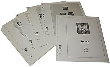Lindner-T Vordruckblätter T217/65 Polen Volksrepublik- Jahrgang 1965 bis 1969