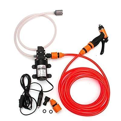 KingSaid 12V 80W Car High Pressure Washer Water Pump Car Cleaning Sprayer Gun Washing Kit from Kingsaid