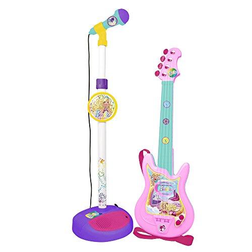 CLAUDIO REIG–Barbie Mattel Mikrofon und Gitarre (4400)