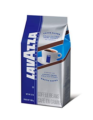 Lavazza 2440 Gran Filtro Dunkel ger-steter Kaffee Italienische 2.2-lb Whole Bean Bag