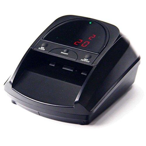 Cash tester - Detector de Billetes CT 332 SD - Euro/Libras - 4 Posiciones de Entrada de Billetes - Display multifuncion - actualizable