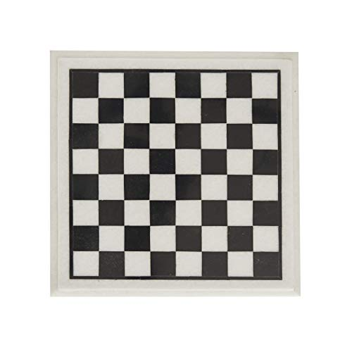 Queenza Chess Board Marble – 12 Inch Handmade...