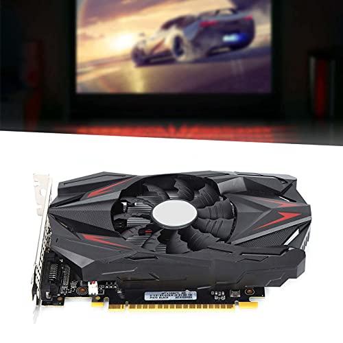 Tarjetas Gráficas Geforce GTX 1050Ti, GPU 4G De 128 bits Tarjetas Gráficas 1050Ti GTX con Sistema De Enfriamiento por Ventilador, Memoria De Video DDR5 De 7000MHz con Resolución: 7680x4320 HDML/DP