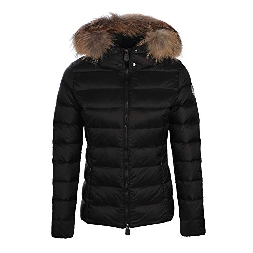 Just over the top, Luxe ml capuche grand froid, Black - XL