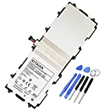 XITAIAN 3.7V 25.90Wh SP3676B1A(1S2P) Remplacement Batterie pour Samsung Galaxy Tab 2 10.1' GT-P5100...