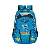 Genius 17 inch 33.5 Ltrs Blue Laptop Backpack (CAMO19SBBLU)