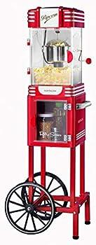 Nostalgia 2.5 oz. Retro Popcorn & Concession Cart