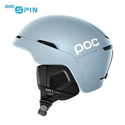 POC - Obex Spin Snowboard and Ski Helmet for Resort and Backcountry Riding, Breathable and Adjustable, Kyanite Blue, Medium/Large