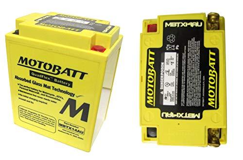 KAWASAKI KLF 300 C11 Batterie Moto Bayou mbtx14au 1999