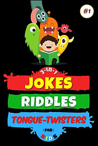 3-in-1: Jokes, Riddles & Tongue-Twisters For Kids (Hilario's Books for Kids Vol.1, Band 1)