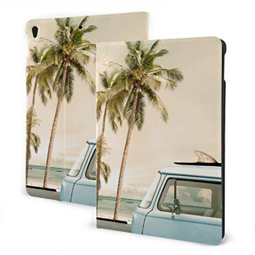 Funda Impermeable para iPad 2019 iPad Air3 / 2017 Funda para iPad Pro de 10,5 Pulgadas/Funda para iPad 2019 7th de 10,2 Pulgadas Funda roja para el Coche en la Playa de Verano pa