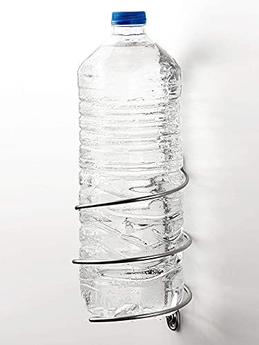 Vardesign Soporte de pared para botella de agua y latas de r