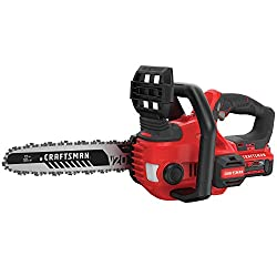 CRAFTSMAN V20 Cordless Chainsaw, 12-Inch (CMCCS620M1)