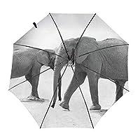 動物 象 折りたたみ傘 自動傘 ワンタッチ式 おしゃれ 耐強風 超撥水 晴雨兼用 梅雨対策 メンズ レディース ビッグサイズ