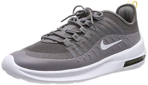 Nike Air MAX Axis Prem, Zapatillas de Running Hombre, Gris (Gunsmokesea/White/Univ Gold/Black 007), 44 EU