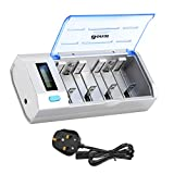 BONAI LCD Universal Battery Charger with DISCHARGE Function for AA AAA C D