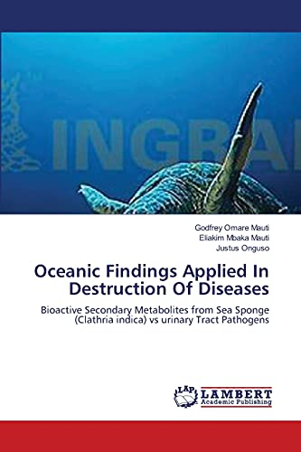 Oceanic Findings Applied In Destruction Of Diseases: Bioactive Secondary Metabolites from Sea Sponge (Clathria indica) vs urinary Tract Pathogens