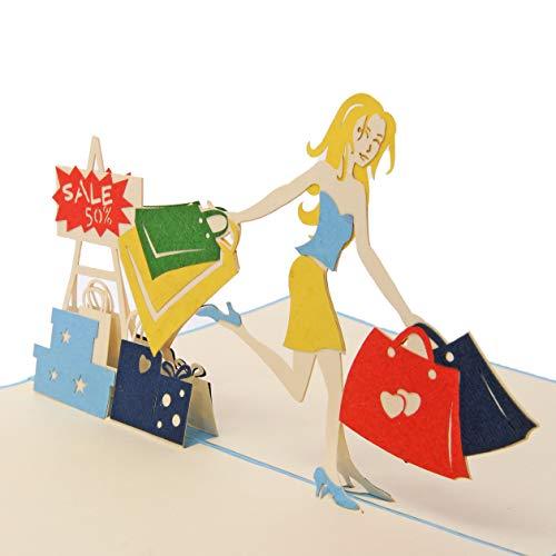 Favour Pop Up Grusskarte - Shopping...