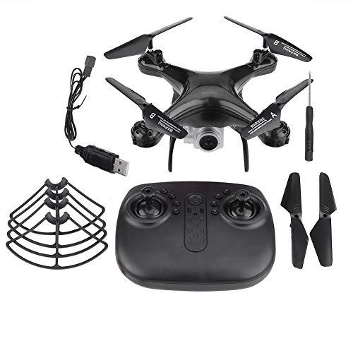 Andraw RC Drone, Helicopter Toys Remote Control Remote Control Plane 480P 720P 1080P Camera WiFi(Black, 720P)
