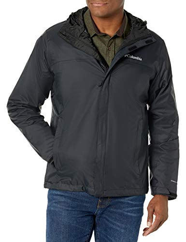 Columbia Watertight II - Chaqueta para hombre, Negro, Medium