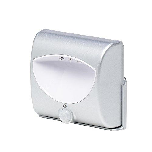 Grundig 56519 LED Bewegungs-/Nachtlicht/PIR-Sensor inklusive Wandhalterung und Magneten, Plastik, weiß
