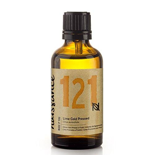 Naissance Limette (Nr. 121) 50ml - 100{9fdf396464e4ce9e57241f2caba738126c109f343217c0cb4ade940d5ac69a4a} naturreines ätherisches Limettenöl - vegan, unverdünnt – für Aromatherapie, Massagemischungen & Duftlampen – vitalisierendes und belebendes Aroma