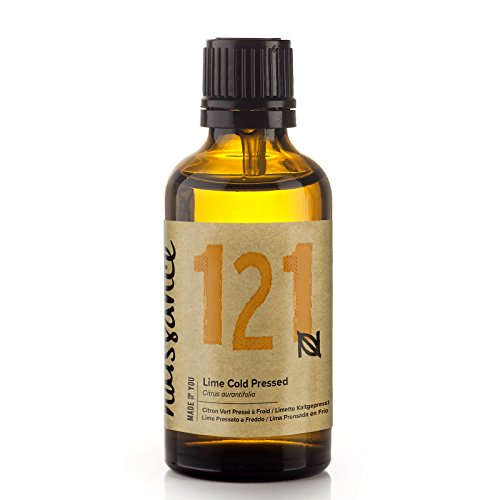 Naissance Limette (Nr. 121) 50ml - 100{06e151323821fd19f07449b47dbaa03b45c273eaa2a923a2580abc4a486dcb3a} naturreines ätherisches Limettenöl - vegan, unverdünnt – für Aromatherapie, Massagemischungen & Duftlampen – vitalisierendes und belebendes Aroma