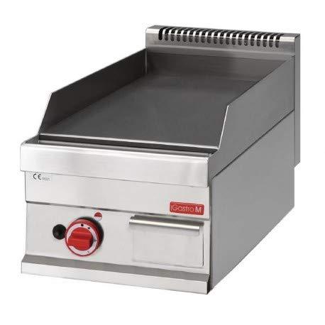 Plancha professionnelle lisse - gaz - Gastro M - Inox 650