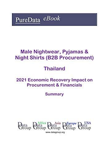 Male Nightwear, Pyjamas & Night Shirts (B2B Procurement) Thailand Summary: 2021 Economic Recovery Impact on Revenues & Financials (English Edition)