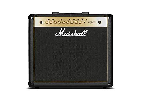 Marshall Amps Marshall M-MG101GFX-U - Amplificador (100 W, 1 x 12, con FX), color dorado