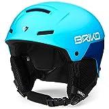 Briko Mammoth Casco de Esquí, Unisex Adulto, Matt Blue Sky Blue, 48-52