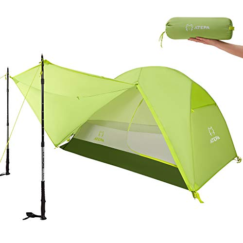 ATEPA Camping Tent 1 Man Tent for Camping Waterproof 2 Man tent 3 Man tent Dome Tent Backpacking...