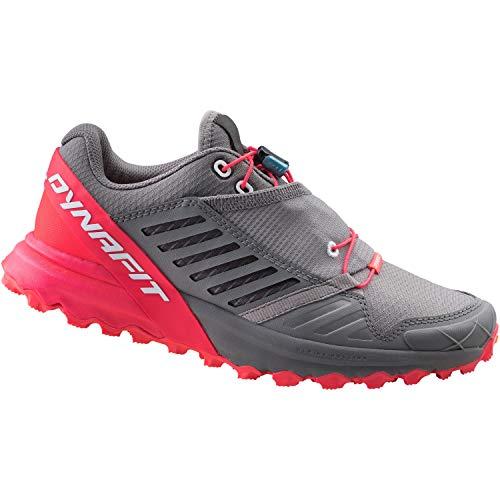 DYNAFIT Damen Alpine PRO W Leichtathletik-Schuh, Quiet Shade/Fluo Pink, 39 EU